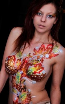 Leafy Hayley glitter tatt studio sat