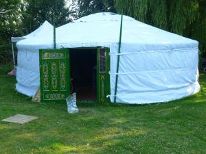 1. Yurt - Church Farm, Knapton.
