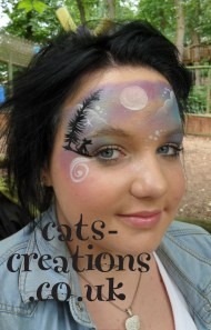 Bewild July Twighlight face wolf side cc