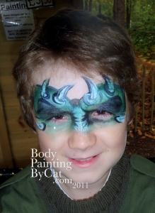Bww Halloween thorny angry eyebrows bpc