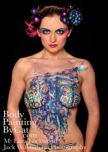 Lara lockwood Bauble Bubble glitter tattoo body art bpc
