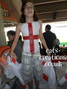 England flag torso body cc