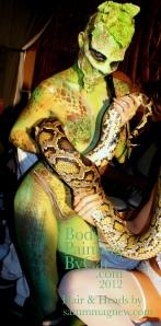Gilgamesh snake with python bpc