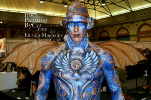 IMATS 2011 Illusion steampunk bat wings 2 bpc