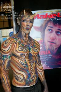 IMATS 2011 Illusion wood satyr kiss Tumninus bpc