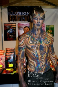 IMATS 2011 Illusion wood satyr stall bpc