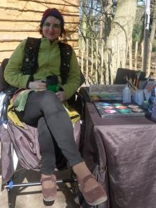 Jenns 1st Bewilderwood day me morning tea