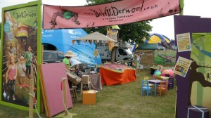 Norfolk Show Bewilderwood stand my set up wide