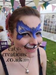 Norfolk Show blue cat eyes cc