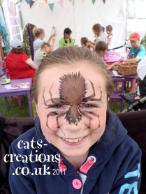 Norfolk Show hairy spider cc