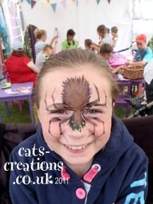 Norfolk Show hairy spider cc