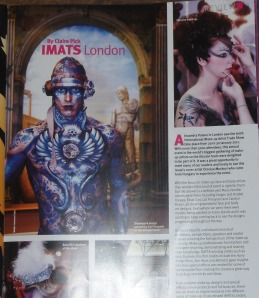 Press clip Illusion Mag IMATS review