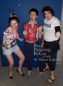 Rugby day 1 me n bodypaints roar bpc