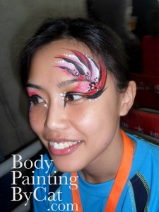 Staff pink tigery eyes side bpc