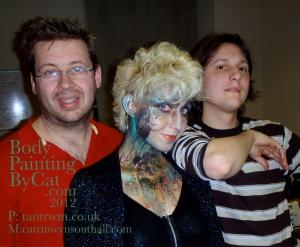 Tantrwm boys and Catryn