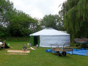 Yurt flooring 2