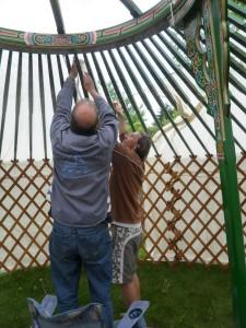 Yurt trials 2 liner on P b