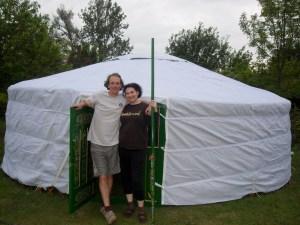 Yurt trials 7 hobbits