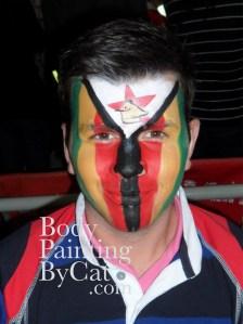Zimbabwe flag rugby bpc