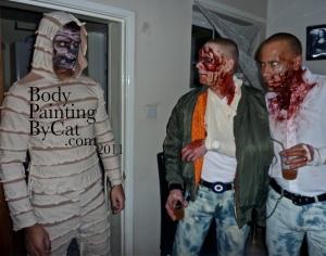 Zombie mummy face paint remi eyes zombies bpc