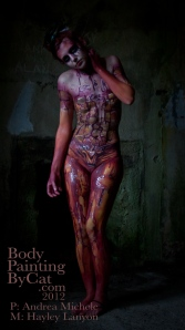 Andrea Michele pic of my Bodmin Goal bodypaint bpc