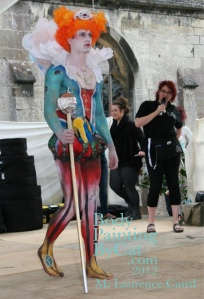 Art Couture Painswick 2102 Queenie cat onstage sm feet bpc