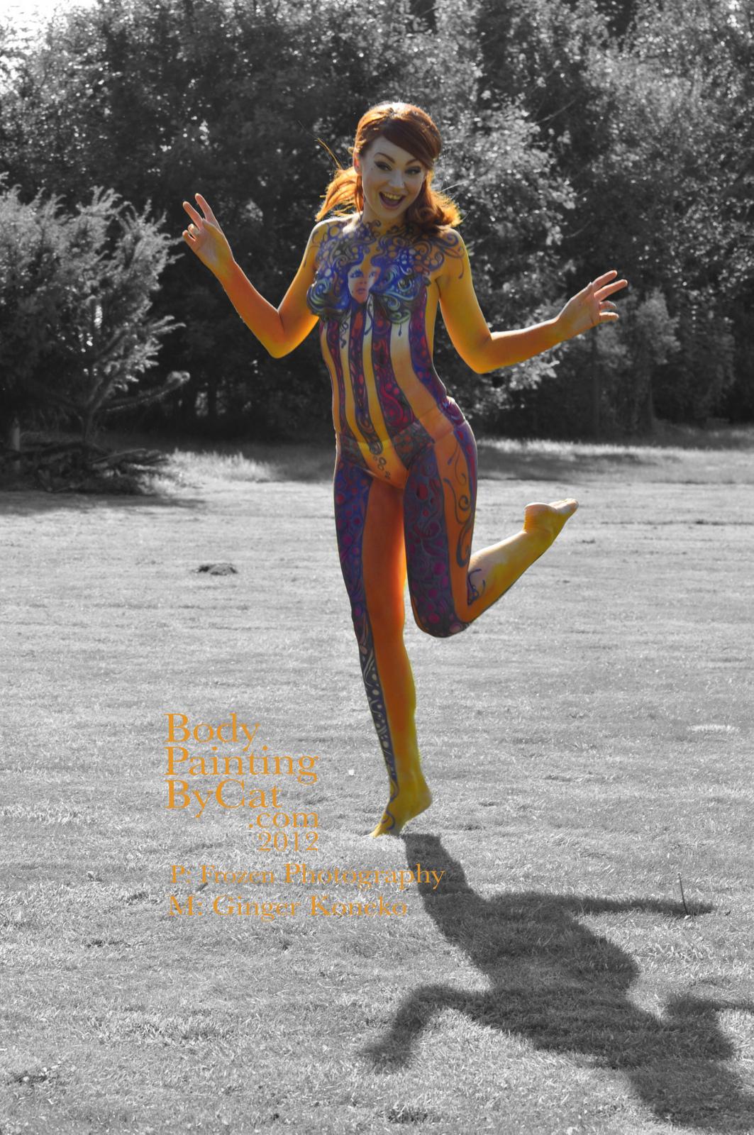 Hey Jude Austin P Half Tint Bpc Body Painting By Cat