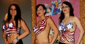 Hustler USA 4th July glitter tatts right 3.26
