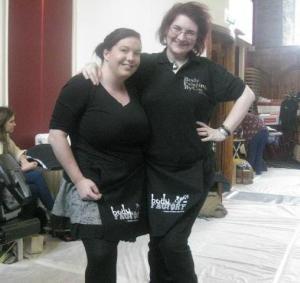 Jenn & I bodyfactory aprons