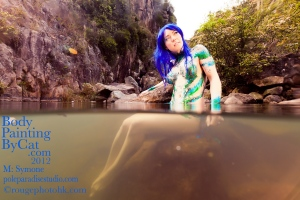 Manga Mermaid underwater half bpc