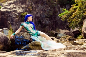 Mermaid draped rock bpc