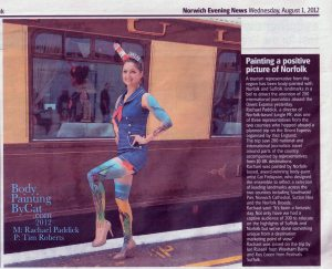 Orient Express Evening News 1st Aug 2012 bpc