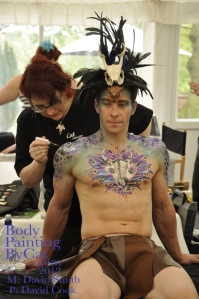 Paintopia Cat glitter tatts photog David Cook bpc