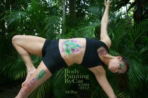 Pat Rocks Yoga glitter tatt balance bpc