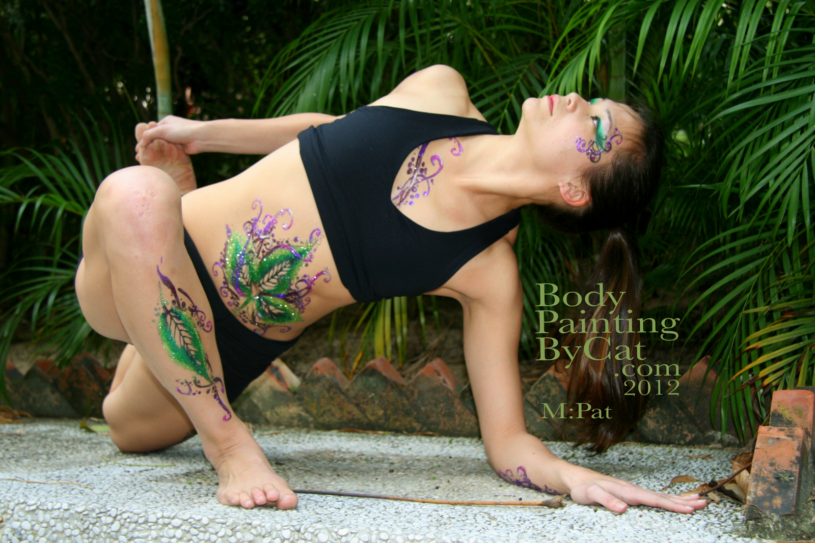 Body Paint Yoga 1/2 Body Paint on Called