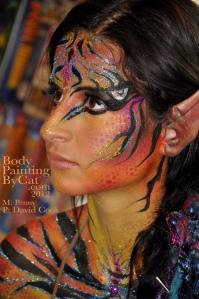 Turuk avatar paint glitter Norcon 2012 bpc
