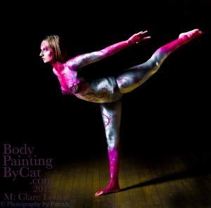 Clare 1 leg gymnast bodypaintplie bpc