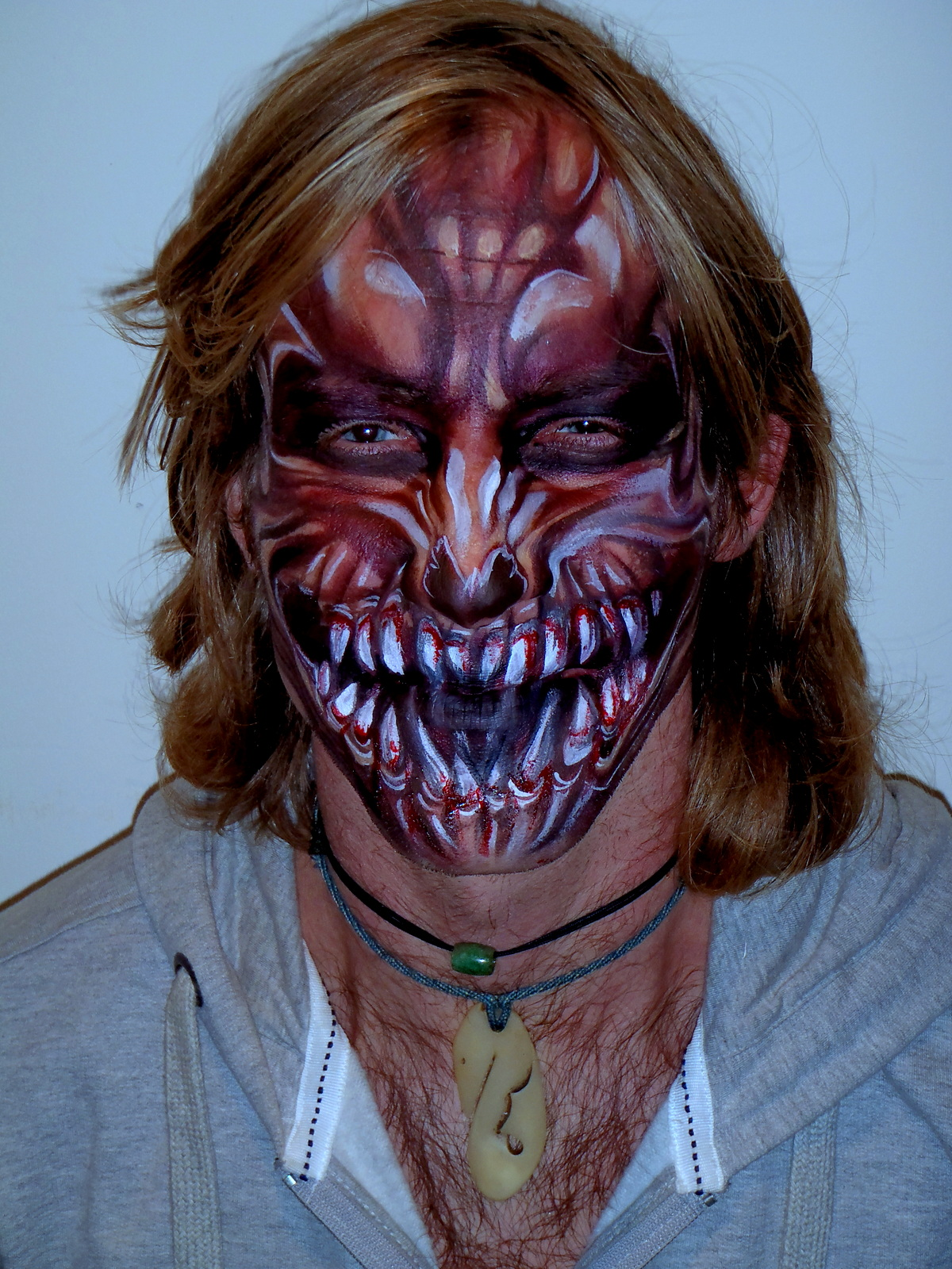 halloween face paint – body paintingcat