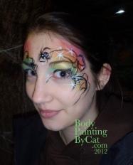 Oct Halloween Bww Jodies st rainbow witch face bpc