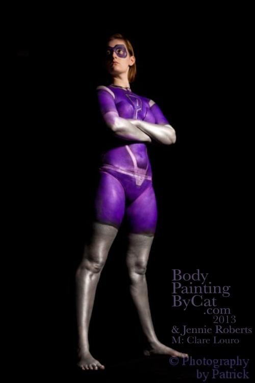 Paintopia Clare hero pose bpc