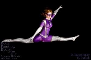 Paintopia Clare leap split bpc