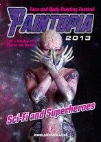 Paintopia space alien 2013 cover brochure