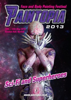 Paintopia space alien 2013 cover brochure