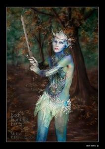 Snow queen fern David radford  sword swing bpc