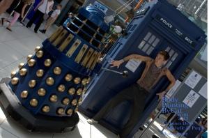 Dr Who rift Tenant bodypaint dalek bpc