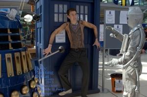 Dr Who rift Tenant bodypaint dalek cyber bpc