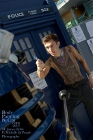Dr Who rift Tenant bodypaint sonic dalek BPC