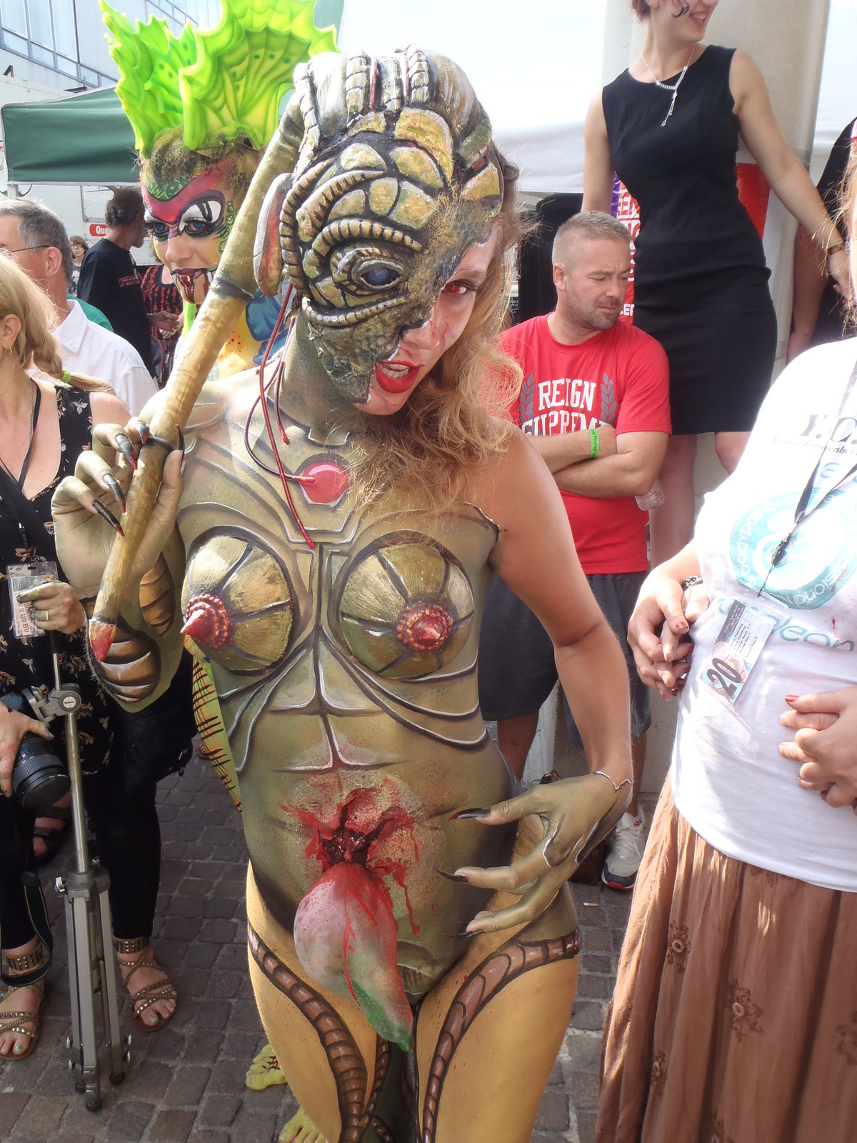Body paint festival key west part 1 6