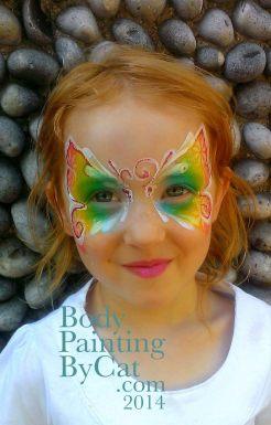 Falcon pastel rainbow butterfly close bpc