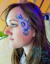 Ovo small blue flowery bpc